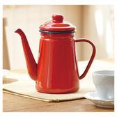 琺瑯咖啡壺 1.1L ENABE023RE NITORI宜得利家居