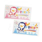 【佳兒園婦幼館】Puku 藍色企鵝 長方浴巾(藍/粉)