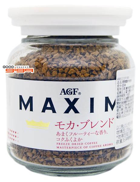 【吉嘉食品】AGF MAXIM 香醇摩卡咖啡 每罐80公克,日本進口 [#1]{4901111371385}
