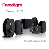 【竹北勝豐群音響】加拿大 Paradigm Cinema 100CT 5.1聲道