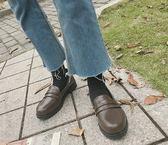 店長推薦★日系學院風森系jk制服鞋文藝二次元少女鞋學生cosplay低跟小皮鞋