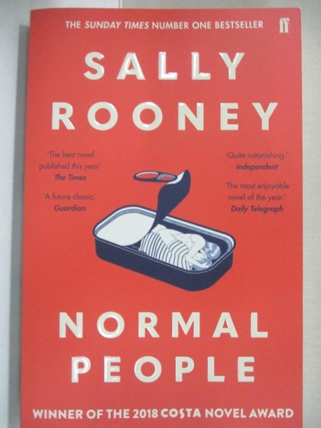 【書寶二手書T1/原文小說_B9Q】Normal People_Sally Rooney