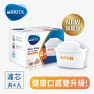 【BRITA】MAXTRA Plus 濾芯-去水垢專家4入