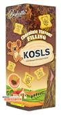 【吉嘉食品】崑崎 巧克力夾心餅 每盒200公克,產地印尼,小熊餅 [#1]{512912}