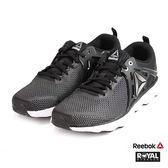 Reebok 新竹皇家 Hexaffect 黑色 網布 運動鞋 男款 NO.A9536