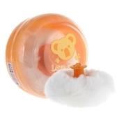 喜多嬰兒便攜痱子粉爽身粉撲盒撲粉盒 帶帶絨毛粉撲 星河光年