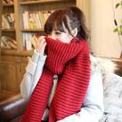 [現貨] 單色粗針針織百搭中性款 保暖圍巾