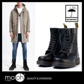馬丁雨鞋 雨靴 中筒綁帶大尺碼男女情侶款雨鞋 mo.oh (歐美鞋款)