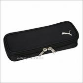 asdfkitty可愛家☆PUMA黑色筆袋/文具袋/收納袋/置物袋-日本正版商品