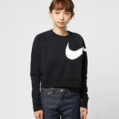 Nike Dry Versa 女款 短版 舒適乾爽 長袖訓練上衣 LOGO 862755010