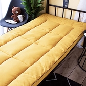 床墊 加厚軟墊大學生宿舍單人0.9×1.9床墊學校上下鋪折疊地鋪睡墊褥子TW【快速出貨八折下殺】