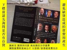 二手書博民逛書店TOP罕見VISIONARIES WHO CHANGED THE WORLD 改變世界的頂尖遠見者(209)Y