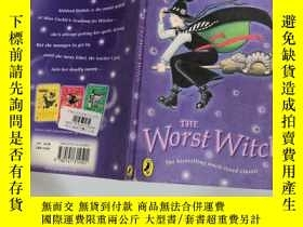 二手書博民逛書店the罕見worst witch 最壞的女巫Y200392