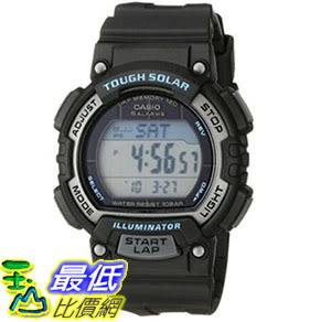 [美國直購] 手錶 Casio Womens STL-S300H-1ACF Solar Runner Digital Display Quartz Black Watch