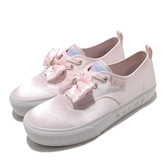 Skechers 休閒鞋 Bobs X Sailor Moon Marley 美少女戰士 粉紅 白 女鞋 緞帶 聯名款 帆布鞋【ACS】 66666268LTPK