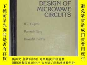 二手書博民逛書店Computer-Aided罕見Design of Microw