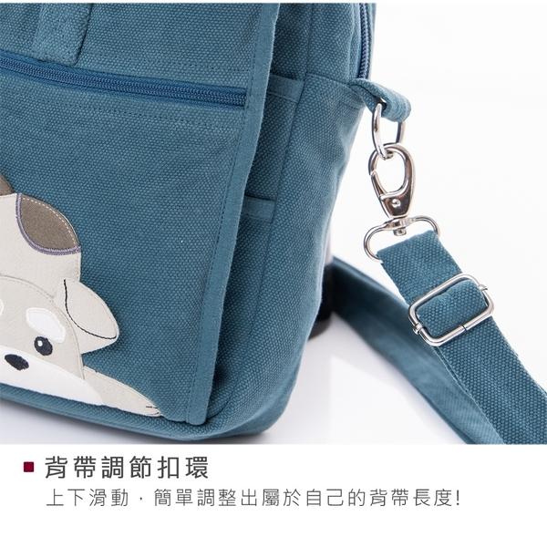 Kiro貓‧雪納瑞 多功能 外出 旅行 小方包/斜背包【810090】