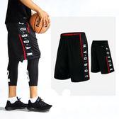 科比籃球褲短褲男過膝寬松運動短褲五分褲街球跑步健身訓練短褲