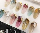 日本同款水晶石金邊 堆鑽 美甲飾品《Nails Mall美甲美睫批發》