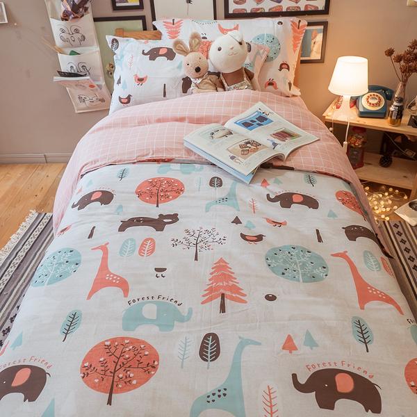 春日 S1單人床包2件組 多款可選 100%純棉 棉床本舖
