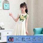 女童禮服 無袖連身裙2020新款夏季童裝兒童雪紡公主裙休閒女孩韓版洋氣裙子 3C數位百貨