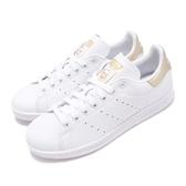 adidas 休閒鞋 Stan Smith W 白 金 小白鞋 女鞋 經典款 史密斯 【PUMP306】 EE8836