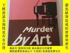 二手書博民逛書店Murder罕見by Art (Cambridge English Readers: Level 5)Y286