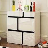 鞋櫃簡約現代烤漆門廳玄關隔斷櫃多功能經濟簡易大容量儲物櫃xw 【快速出貨】