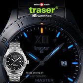 Traser Automatic自動上鏈經典錶不鏽鋼錶帶#100222【AH03022】i-Style居家生活