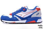 Diarora  新竹皇家 N9000 NYL 白藍/紅 麂皮 網布 休閒鞋 男女款 NO.A7324