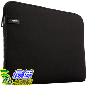 [106美國直購] AmazonBasics 13.3-Inch Laptop Sleeve - Black