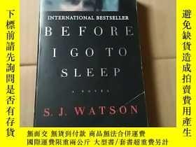二手書博民逛書店BEFORE罕見I GO TO SLEEPY19672