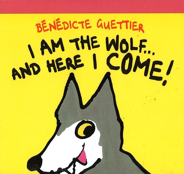 【故事老師最愛繪本】I AM THE WOLF... AND HERE I COME!/硬頁書《主題:.幽默.趣味》