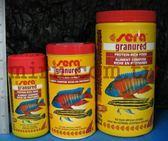 【西高地水族坊】德國Sera 慈鯛蝦類顆粒飼料(肉食性) 1L