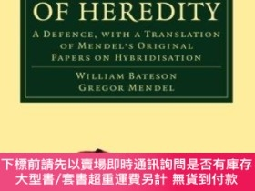 二手書博民逛書店Mendel s罕見Principles Of HeredityY255174 William Bateson