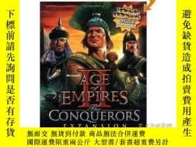 二手書博民逛書店Age罕見of Empires II: Conquerors 帝