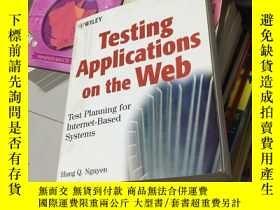 二手書博民逛書店Testing罕見Applications on the Web