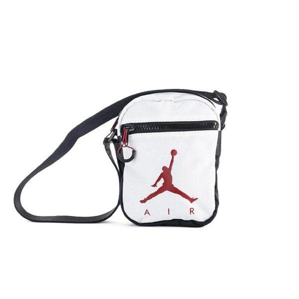59dede9bec6 Nike 側背包Jordan 1 Wing Festival Bag 小包方包飛人翅膀白黑【PUMP306 ...