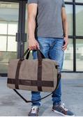 帆布旅行包男手提行李包出差健身包短途旅遊包大容量可折疊運動包