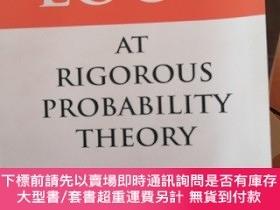 二手書博民逛書店A罕見First Look At Rigorous Probability TheoryY14530 seco