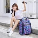 拉桿包 旅行迷你小行李袋大容量手提箱拉桿包男女可登機出差短途輕便商務【全館免運】