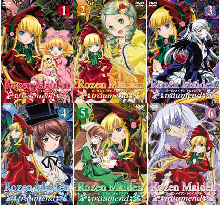 動漫 - 薔薇少女 彷如夢境 Rozen Maiden DVD VOL-1-6合集