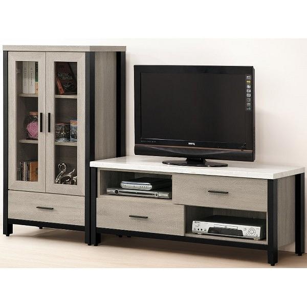 電視櫃 FB-692-3 麥德爾灰橡色6尺L型櫃【大眾家居舘】