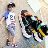 新款中大童潮小男孩鞋子軟底防滑寶寶兒童沙灘鞋【小橘子】