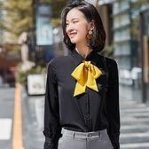 宮廷袖長袖襯衫(不含領結)[20S242-PF]美之札