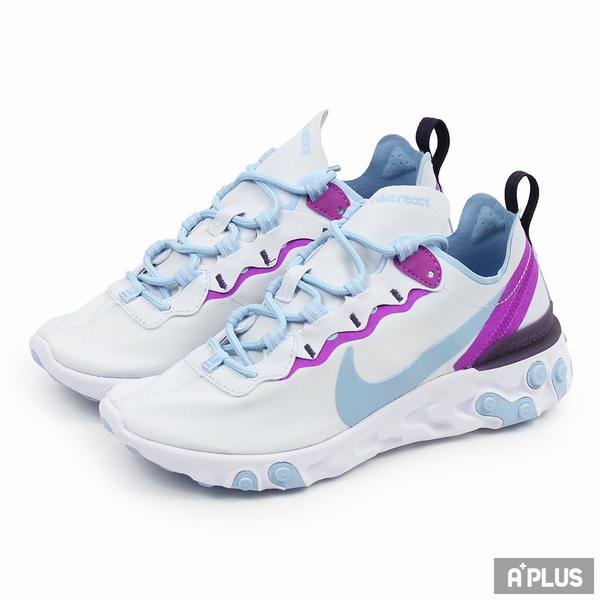 NIKE 女 W NIKE REACT ELEMENT 55 慢跑鞋 - BQ2728008