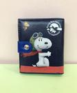 【震撼精品百貨】史奴比_Peanuts Snoopy ~SNOOPY二折皮夾-藍太空人#13000