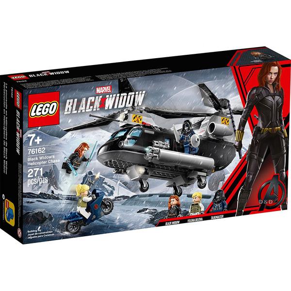 樂高積木 LEGO《 LT76162 》SUPER HEROES 超級英雄系列 - Black Widow s Helicopter Chase