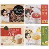 韓國 丹特 生薑茶/紅棗茶/山藥飲/穀物飲/綜合穀物【庫奇小舖】