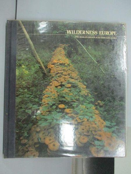 【書寶二手書T8/地理_PNQ】Wilderness Europe